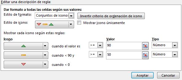 5 editar formato condicional