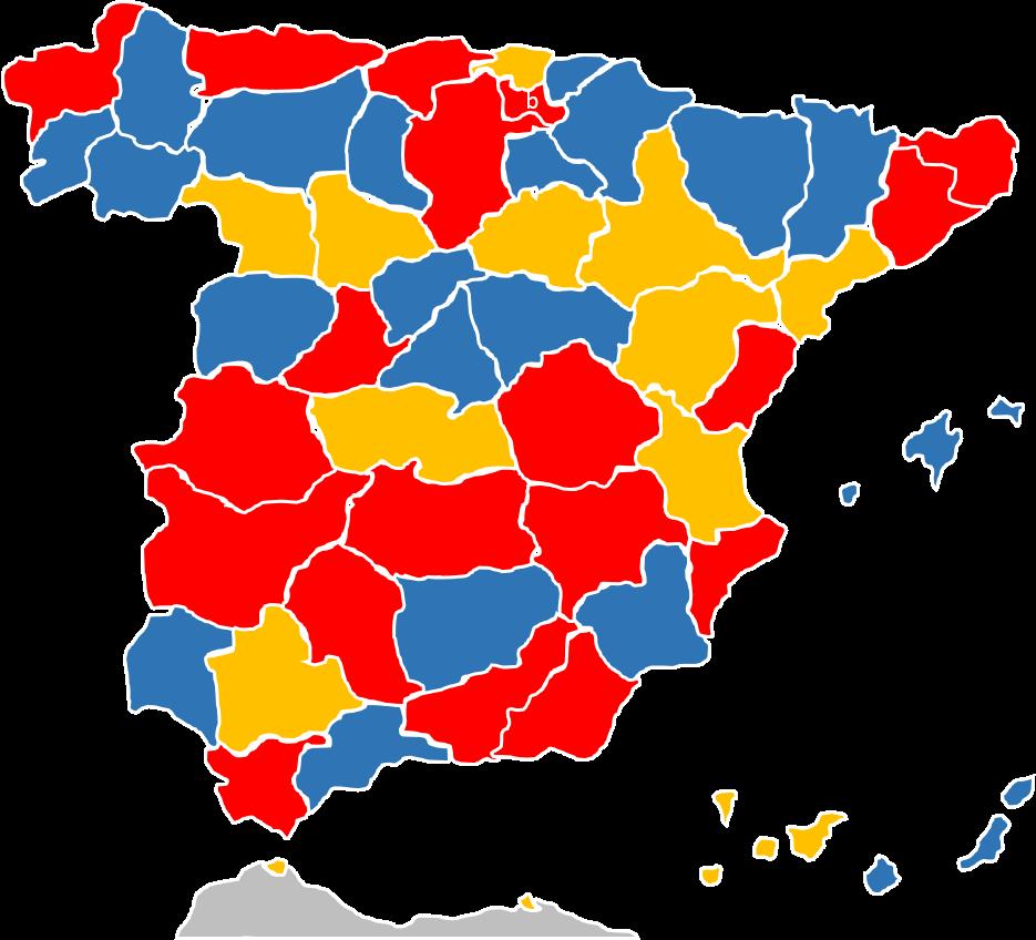 Mapa De Provincias Españolas.Mapa De Las Provincias De Espana En Excel Excel Y Vba
